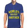 WORLDS OKAYEST BROTHER Mens Polo