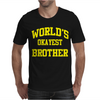 WORLDS OKAYEST BROTHER Mens T-Shirt