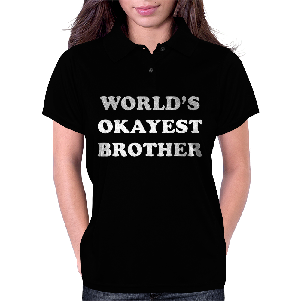 World's Okayest Brother Womens Polo