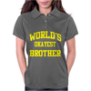 WORLDS OKAYEST BROTHER Womens Polo