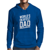 World's Okayest Dad Funny Mens Hoodie