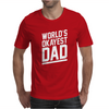 World's Okayest Dad Funny Mens T-Shirt