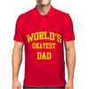 WORLDS OKAYEST DAD Mens Polo