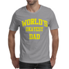 WORLDS OKAYEST DAD Mens T-Shirt