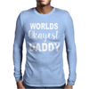 WORLDS OKAYEST DADDY Mens Long Sleeve T-Shirt