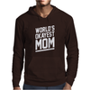 World's Okayest Mom Funny Mens Hoodie