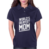 World's Okayest Mom Funny Womens Polo
