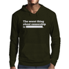 Worst Thing About Censorship Mens Hoodie