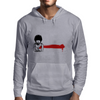 wounded heart art Mens Hoodie