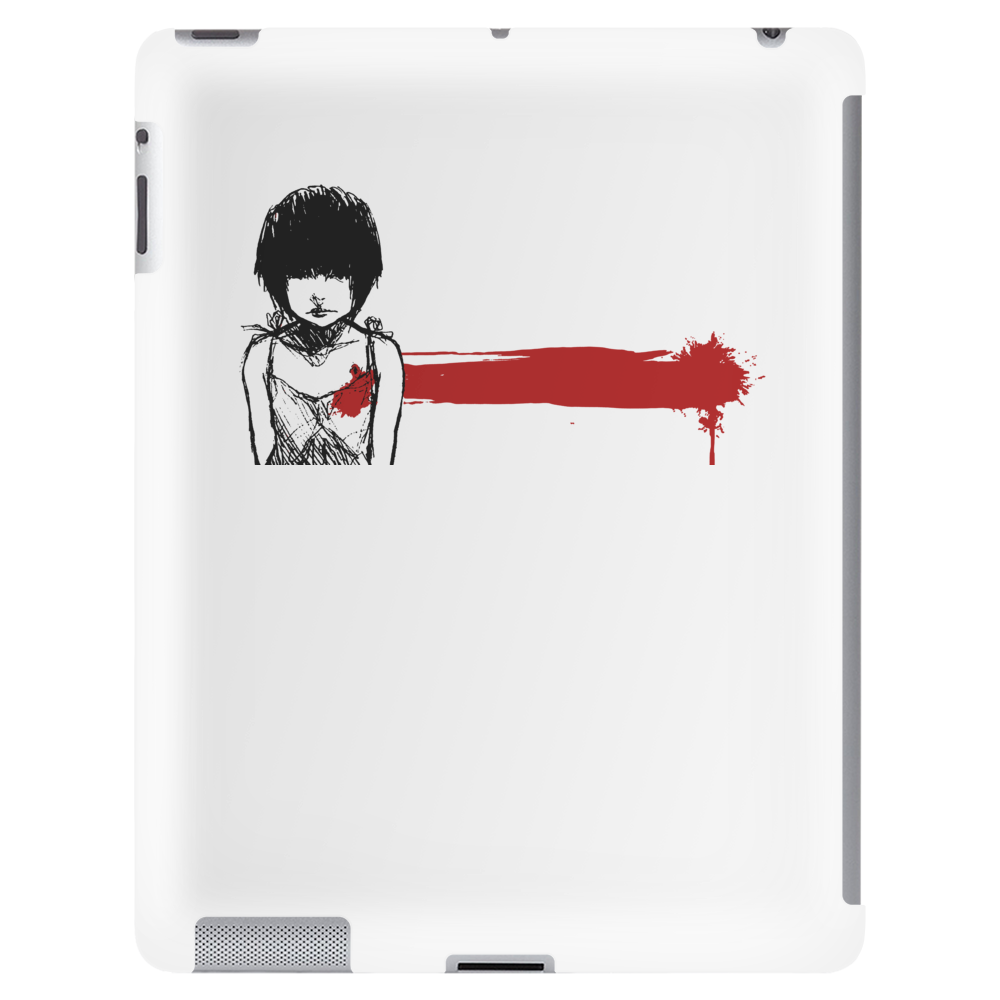 wounded heart art Tablet (vertical)