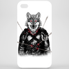 Wounded Lone Wolf Phone Case