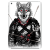 Wounded Lone Wolf Tablet (vertical)