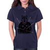 Wounded Lone Wolf Womens Polo