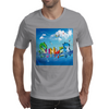 Wow, It's Summer Vaccation! Mens T-Shirt