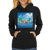 Wow, It's Summer Vaccation! Womens Hoodie