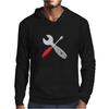Wrench and screw Mens Hoodie