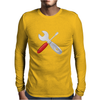 Wrench and screw Mens Long Sleeve T-Shirt