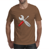 Wrench and screw Mens T-Shirt