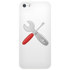 Wrench and screw Phone Case