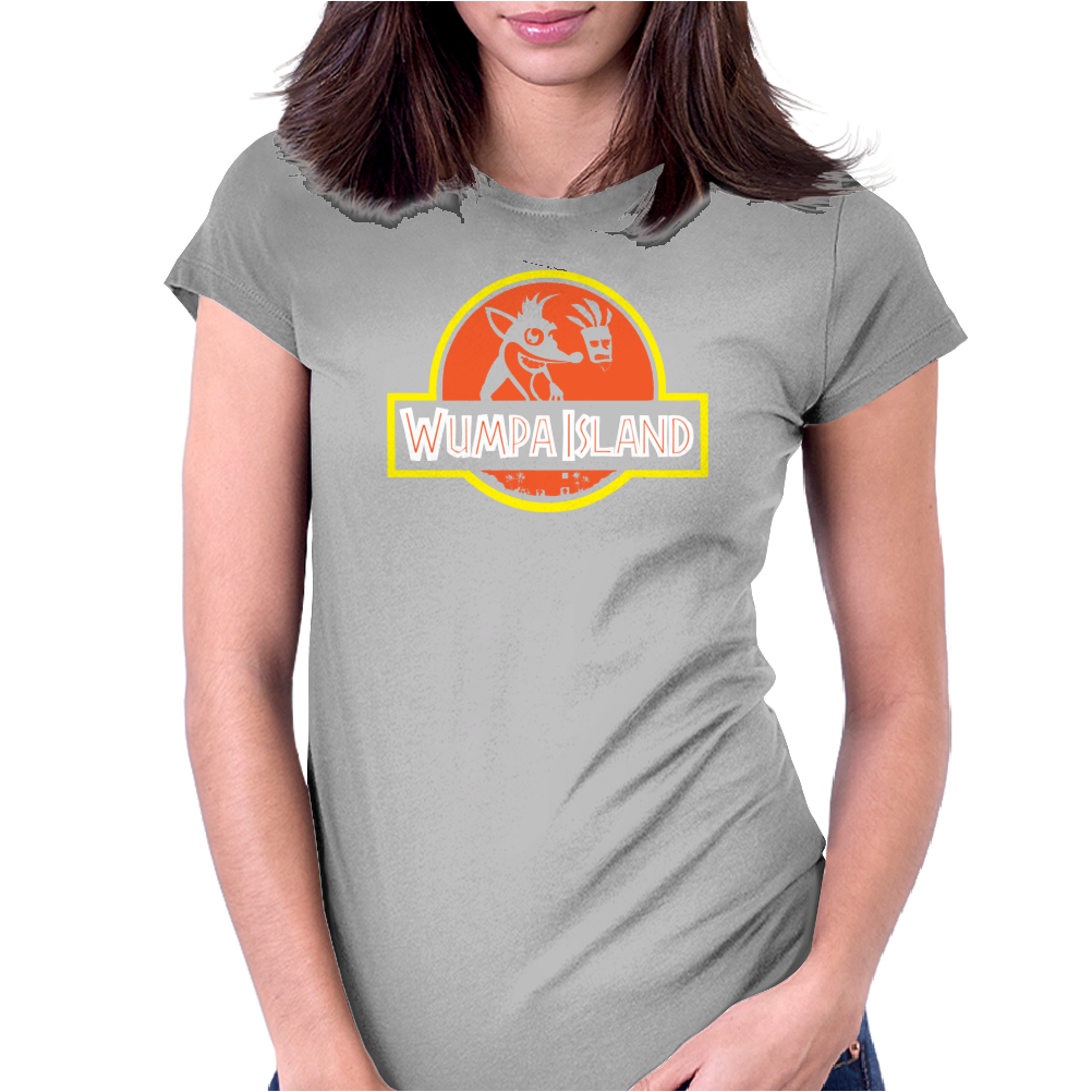 Wumpa Island Womens Fitted T-Shirt