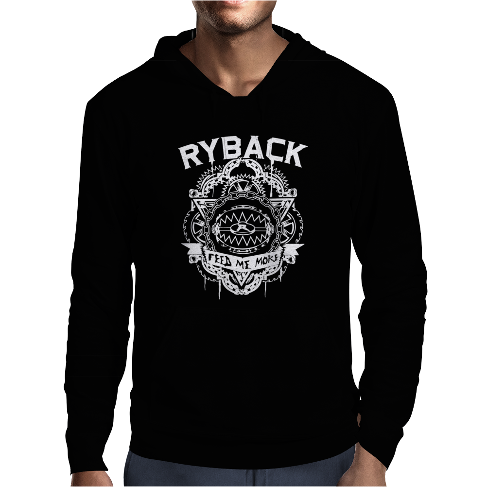 Wwe Wrestling Ryback Feed Me More Mens Hoodie