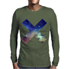 X GALAXY Mens Long Sleeve T-Shirt