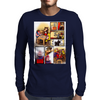 X-MEN : BEHIND THE BATTLE Mens Long Sleeve T-Shirt