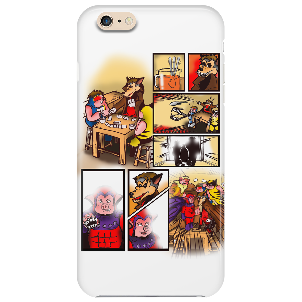 X-MEN : BEHIND THE BATTLE Phone Case
