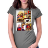 X-MEN : BEHIND THE BATTLE Womens Fitted T-Shirt