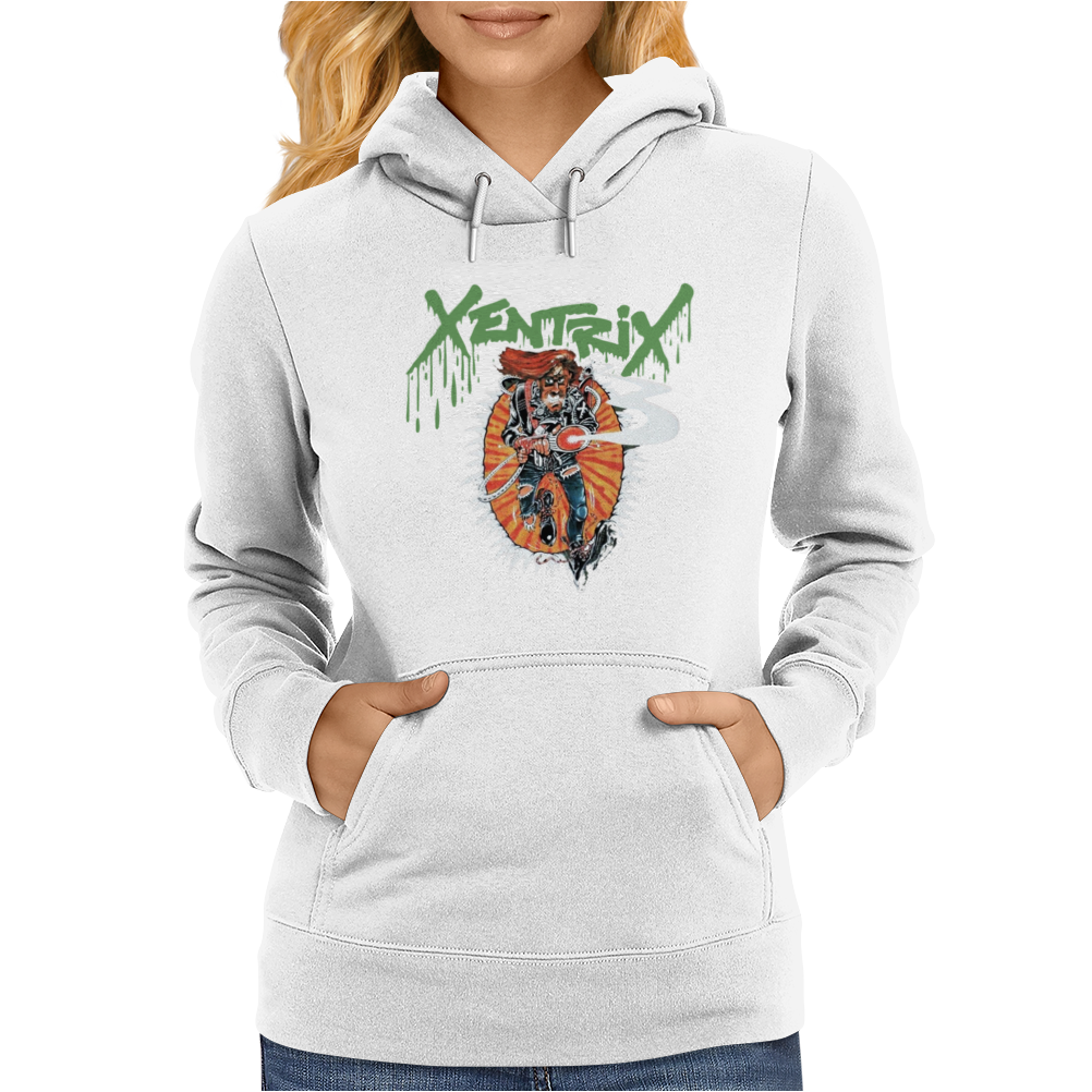 Xentrix Ghost Busters Thrash Metal Womens Hoodie