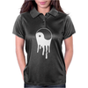 Yang And Yin Dripping Chinese Symbol Fashion Geek Samurai Womens Polo