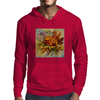 Yarilka In Autumn (October Sun). Marigold and Leaves. In the Mood of the Fall. Mens Hoodie