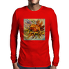 Yarilka In Autumn (October Sun). Marigold and Leaves. In the Mood of the Fall. Mens Long Sleeve T-Shirt
