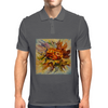 Yarilka In Autumn (October Sun). Marigold and Leaves. In the Mood of the Fall. Mens Polo
