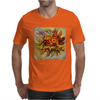 Yarilka In Autumn (October Sun). Marigold and Leaves. In the Mood of the Fall. Mens T-Shirt