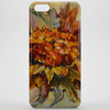 Yarilka In Autumn (October Sun). Marigold and Leaves. In the Mood of the Fall. Phone Case