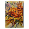 Yarilka In Autumn (October Sun). Marigold and Leaves. In the Mood of the Fall. Tablet (vertical)