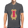 Yawning Hippo Mens Polo