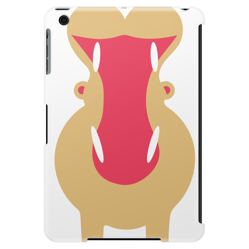 Yawning Hippo Tablet (vertical)