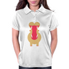 Yawning Hippo Womens Polo