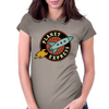 Ye Olde Planet Express Crew Womens Fitted T-Shirt