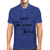 Yeah science bitch Mens Polo