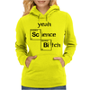 Yeah science bitch Womens Hoodie