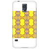 Yellow Abstract Design Phone Case
