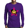 Yellow alien bug Mens Long Sleeve T-Shirt