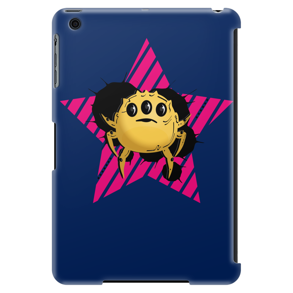 Yellow alien bug Tablet (vertical)