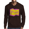 Yellow and Pink Punk Mens Hoodie