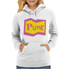 Yellow and Pink Punk Womens Hoodie