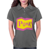 Yellow and Pink Punk Womens Polo