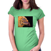 yellow beast Womens Fitted T-Shirt